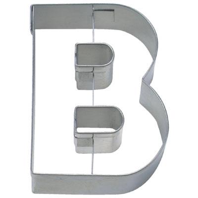 画像1: 〒 クッキー型(Stadter)アルファベット英字B(ステンレス) (1)