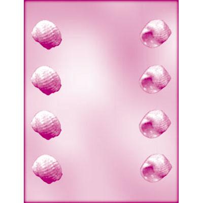 画像1: 〒 CK チョコレート型(立体3D)ふっくらした巻貝 (1)