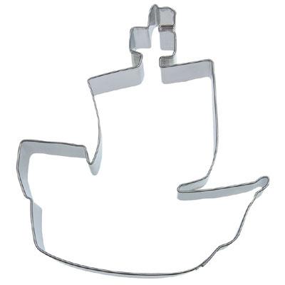 画像1: 〒 クッキー型(Stadter)海賊船【ステンレス】 (1)
