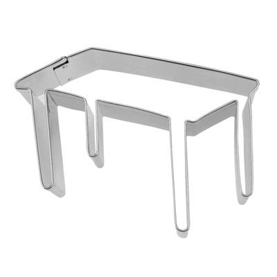 画像1: 〒 クッキー型(Stadter)テーブル(ステンレス) (1)