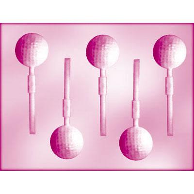 画像1: 〒 CK チョコレート型ロリポップ/ゴルフボール (1)