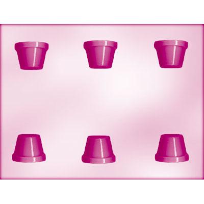 画像1: 〒 CK チョコレート型/植木鉢6 (1)