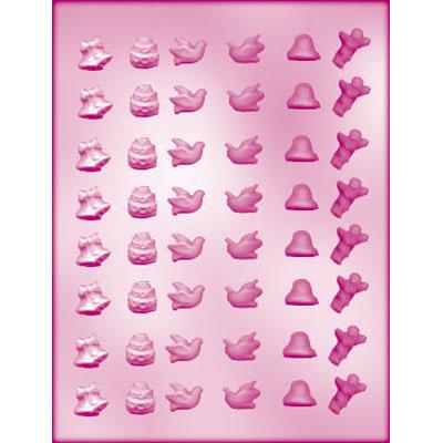 画像1: 〒 CK チョコレート型(プチサイズ)LOVEセット (1)