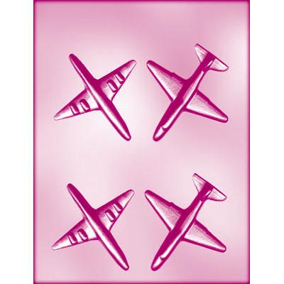 画像1: 〒 CK チョコレート型(立体3D)飛行機 (1)