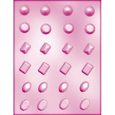 画像1: 〒 CK チョコレート型/宝石24 (1)