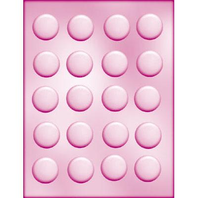 画像1: 〒 CK チョコレート型/丸型20(3.4cm) (1)
