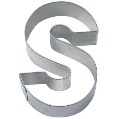 画像1: 〒 クッキー型(Stadter)アルファベット英字S(ステンレス) (1)