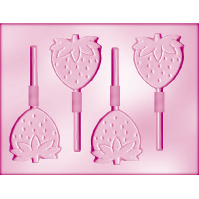画像1: 〒 CK チョコレート型ロリポップ/苺☆ストロベリー (1)