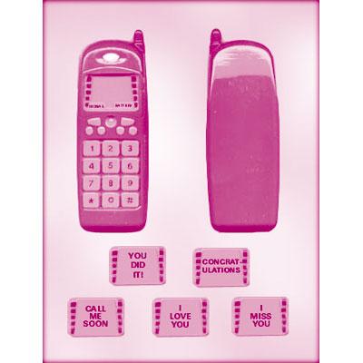 画像1: 〒 CK チョコレート型/携帯電話 (1)