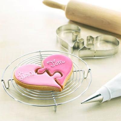 画像1: BIRKMANN クッキー型2pcセット箱/ハートパズル (1)