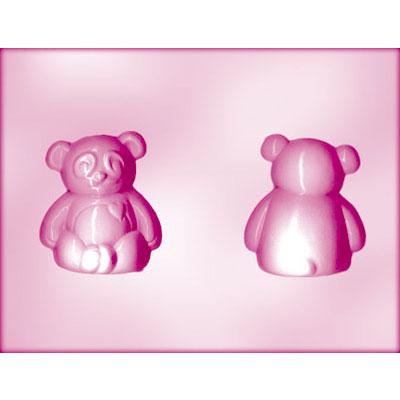 画像1: CK チョコレート型(立体3D)パンダ (1)