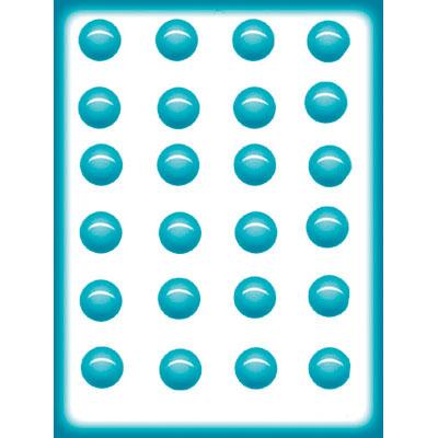 画像1: 〒 CK キャンディ型(飴型)シンプルな丸い凹み24 (1)
