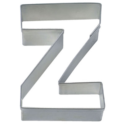 画像1: 〒 クッキー型(Stadter)アルファベット英字Z(ステンレス) (1)
