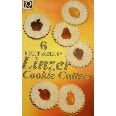 画像1: <SALE>クッキー型抜セット/フルーツ (1)