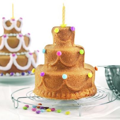 画像1: 3D立体ケーキ型/ケーキ (1)