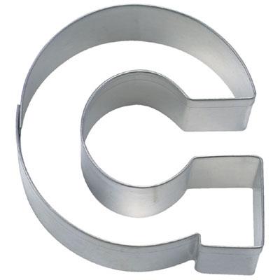画像1: 〒 クッキー型(Stadter)アルファベット英字G(ステンレス) (1)