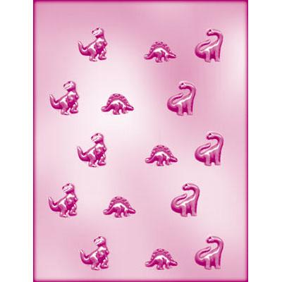 画像1: 〒 CK チョコレート型/小さめ恐竜 (1)