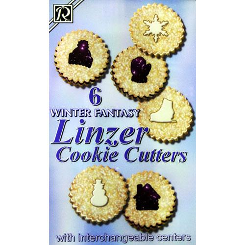 画像1: クッキー型抜セット/冬ウインター (1)