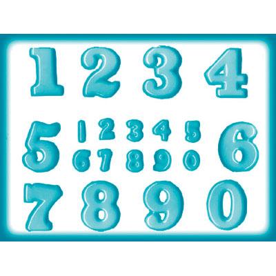 画像1: 〒 CK キャンディ型(飴型)数字 (1)