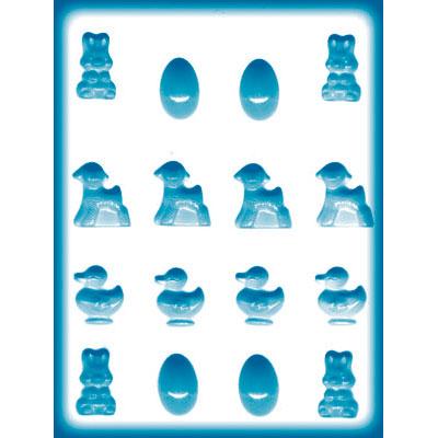 画像1: 〒 CK キャンディ型(飴型)卵・アヒル・ウサギ・ヒツジ (1)