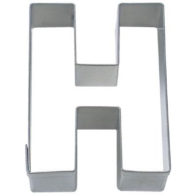 画像1: 〒 クッキー型(Stadter)アルファベット英字H【ステンレス】 (1)