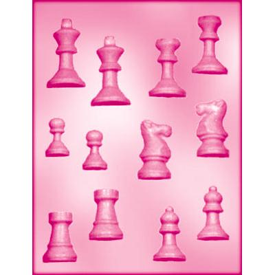 画像1: 〒 CK チョコレート型(立体3D)チェス (1)
