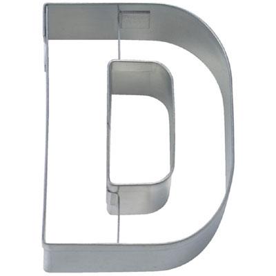 画像1: 〒 クッキー型(Stadter)アルファベット英字D【ステンレス】 (1)
