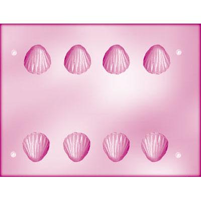 画像1: CK チョコレート型(立体3D)貝 (1)