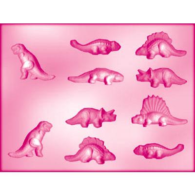 画像1: 〒 CK チョコレート型/恐竜10 (1)