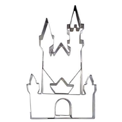 画像1: 〒 クッキー型(Stadter)お城 (1)