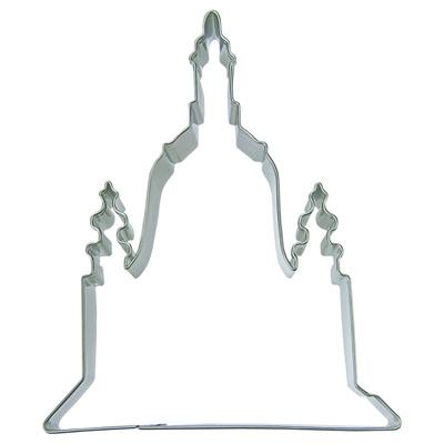 画像1: 〒 クッキー型(Stadter)寺院(ステンレス) (1)
