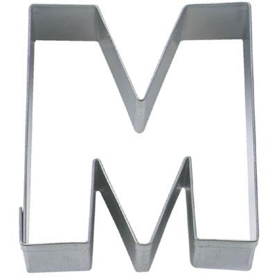 画像1: 〒 クッキー型(Stadter)アルファベット英字M(ステンレス) (1)